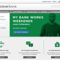 Academy Bank Homepage