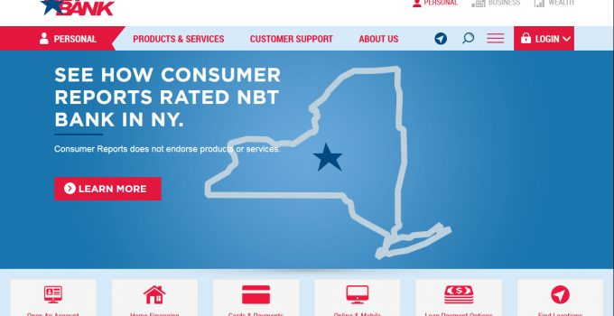 Nbt Personal Online Banking
