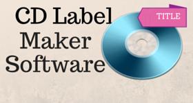 CD Label Maker Software