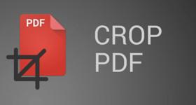 Crop PDF
