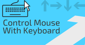 control mouse with keyboard