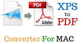 XPS TO PDF MAC