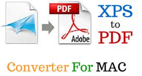 XPS TO PDF MAC