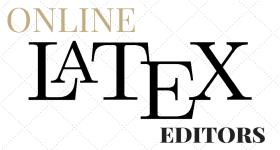 Online LaTeX Editors