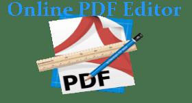 Online PDF Editor