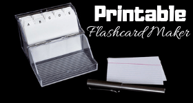 photo regarding Printable Flash Card Maker Front and Back referred to as 9 Ideal Totally free Printable Flashcard Company Computer software for Home windows