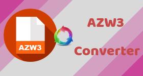 azw3 converter