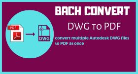 batch convert dwg to pdf