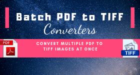 batch convert pdf to tiff
