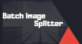 batch image splitter
