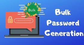 bulk password generator