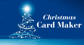 christmas card maker