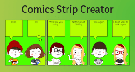 comics strip creator