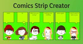 comics strip creator