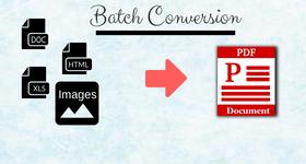 Convert Multiple Files To PDF