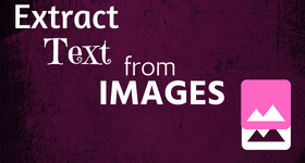 extract text from images