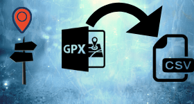 gpx to csv