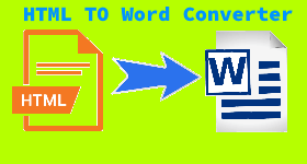 html to word converter