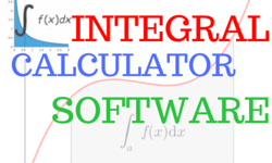 integral calculator software