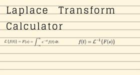 laplace transform calculator