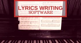 lyrics writing software