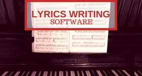lyrics writing software