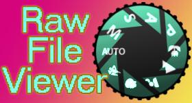 Raw File Viewer Freeware