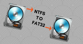 ntfs to fat32 converter