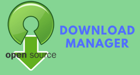 open source download manager
