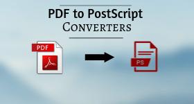 pdf to ps converter