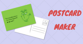 postcard maker