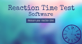 reaction time test software