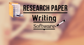research paper writing software