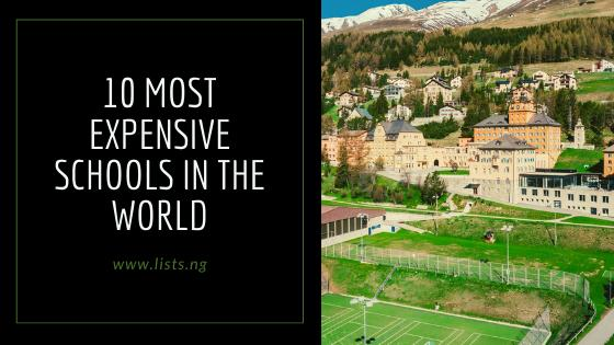 10 Most Expensive Schools In The World