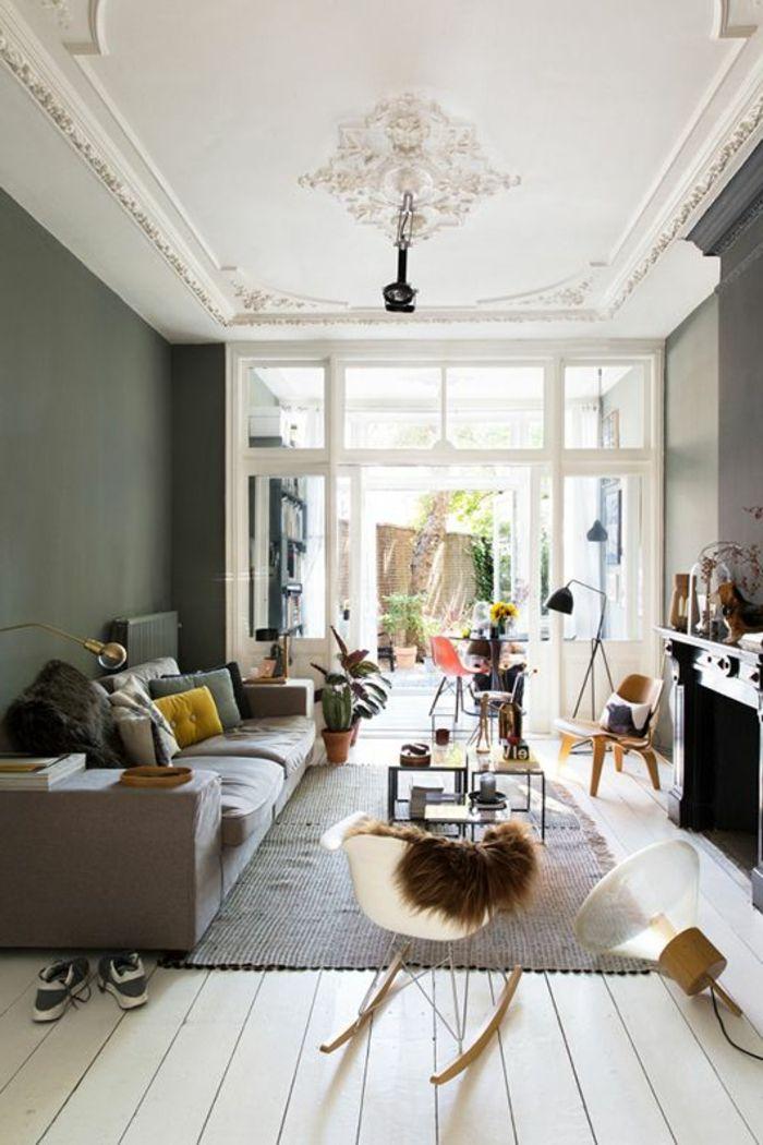 Deco Plafond Salon Stunning Dcoration With Deco Plafond