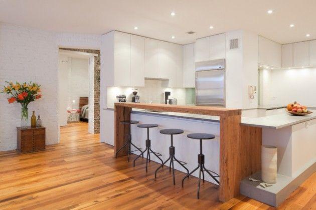 Idée relooking cuisine - Quelques modèles de bar cuisine moderne ...