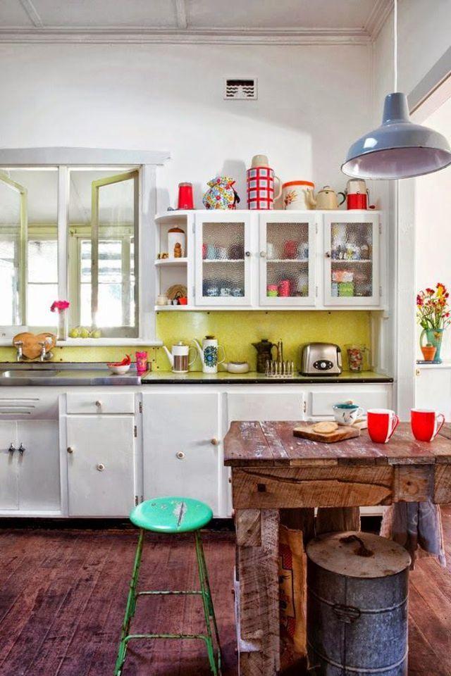 id e relooking cuisine d co cuisine le style r tro et vintage leading. Black Bedroom Furniture Sets. Home Design Ideas