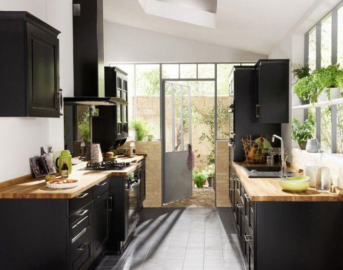 Idée relooking cuisine - Aménager une cuisine en longueur ...