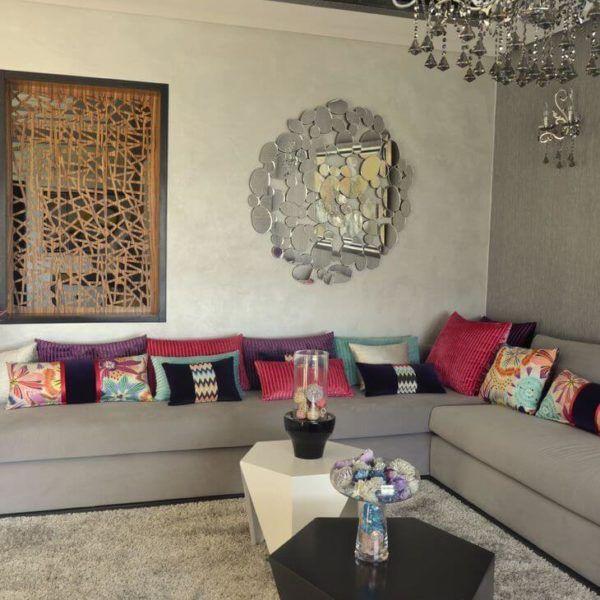 dco salon espace deco salon marocain ralisation du talentueux architecte dintri - Salon Marocain Sahraoui
