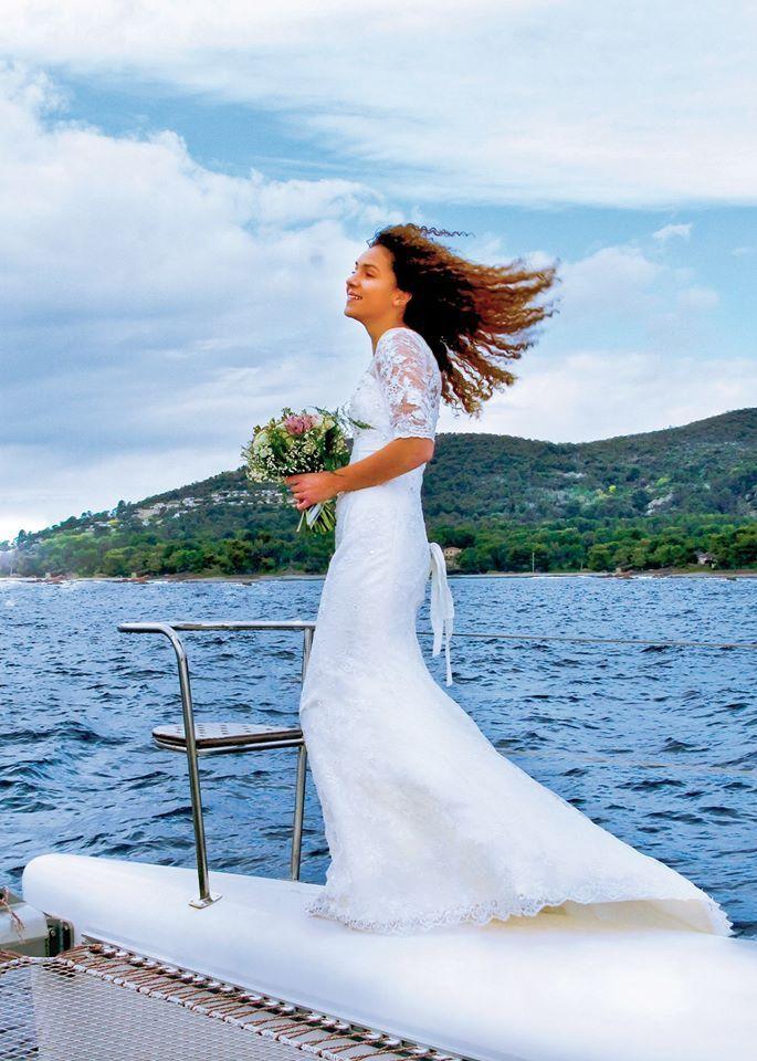 Coiffure de mariage 2017 \u2013 awesome Coiffure de mariage 2017 \u2013 Robe de Mariée  sirène romantique boheme den\u2026