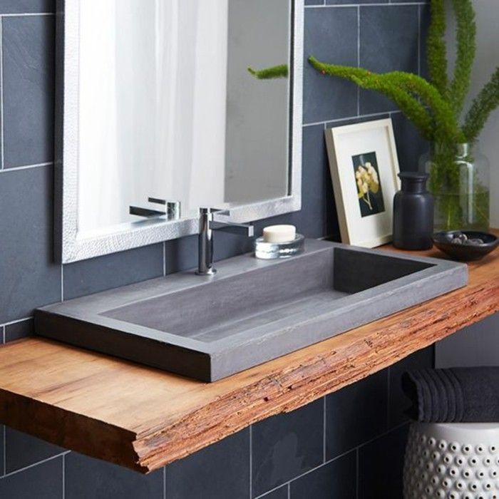 Id e d coration salle de bain evier salle de bain for Evier salle de bain