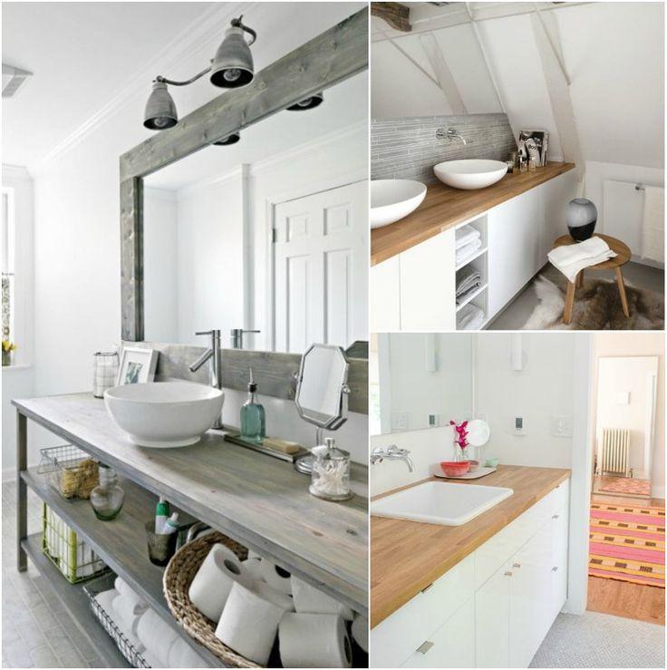 plan de travail salle de bain bois top plan de travail en teck massif lamellcoll pour cuisine. Black Bedroom Furniture Sets. Home Design Ideas