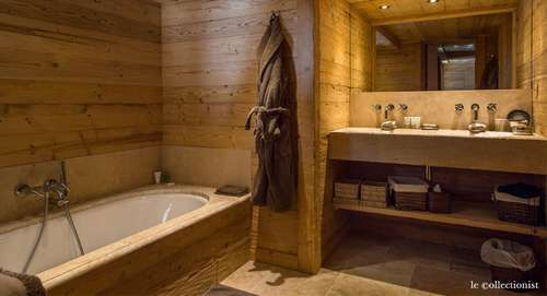 Beautiful Salle De Bain Style Chalet Ideas - Awesome Interior Home ...