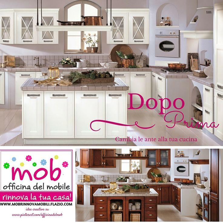 Come Verniciare Le Ante Della Cucina. Great Testo With Come ...