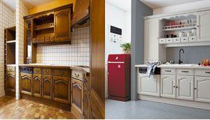 amazing description repeindre toute la cuisine peindre repeindre son plan de travail cuisine. Black Bedroom Furniture Sets. Home Design Ideas