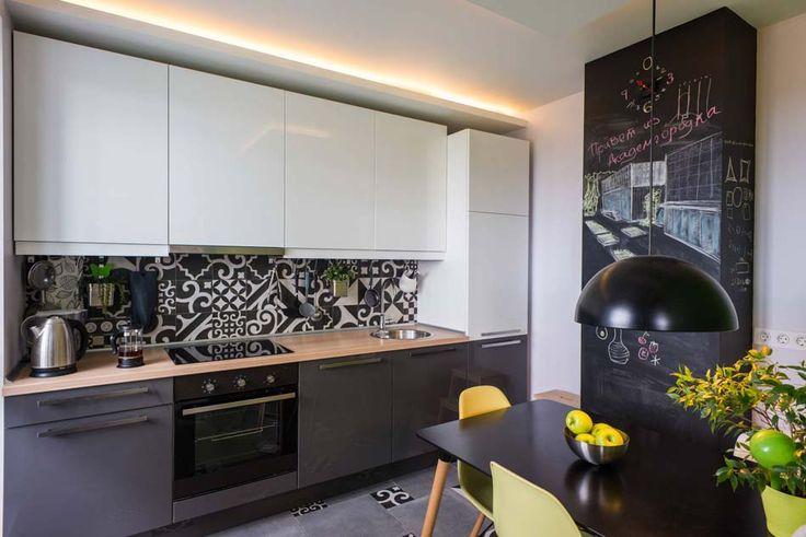 Id e relooking cuisine petite cuisine ouverte l for Cuisine design epuree