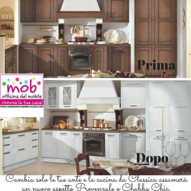 Emejing Dipingere I Mobili Della Cucina Contemporary ...