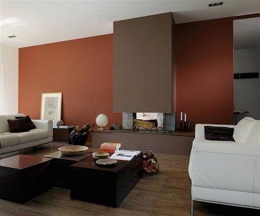 dco salon peinture salon 25 couleurs tendance pour repeindre le salon - Tendance Couleur Peinture Salon