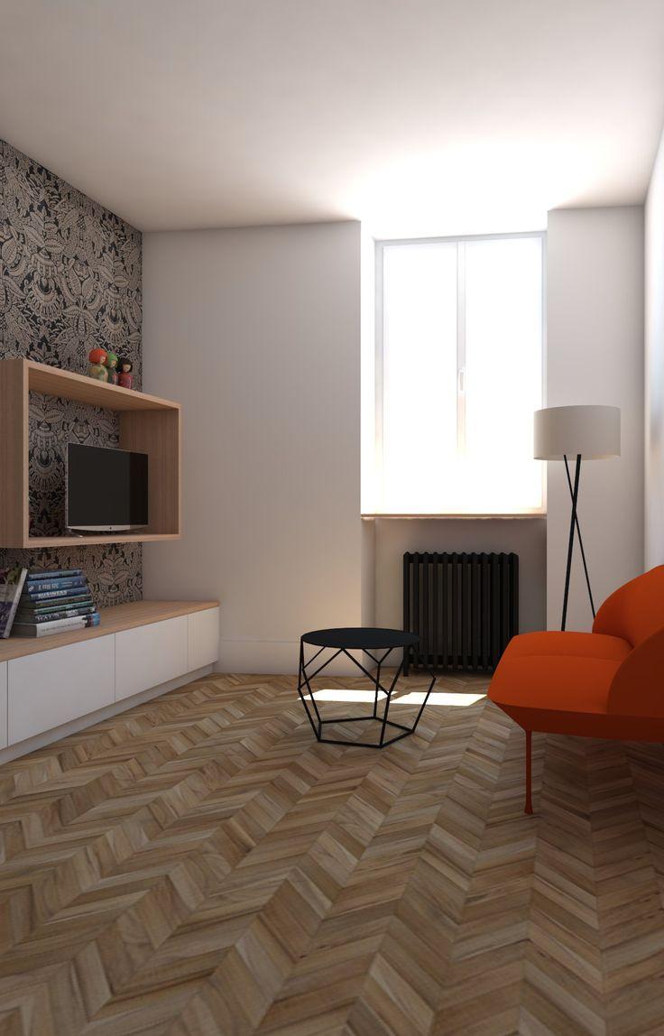 meuble deco salon. Black Bedroom Furniture Sets. Home Design Ideas