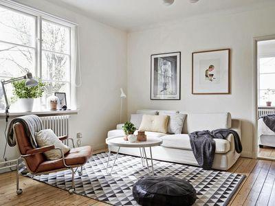 Tapis Deco Scandinave Cr Er Un Salon Style Scandinave Prix Doux